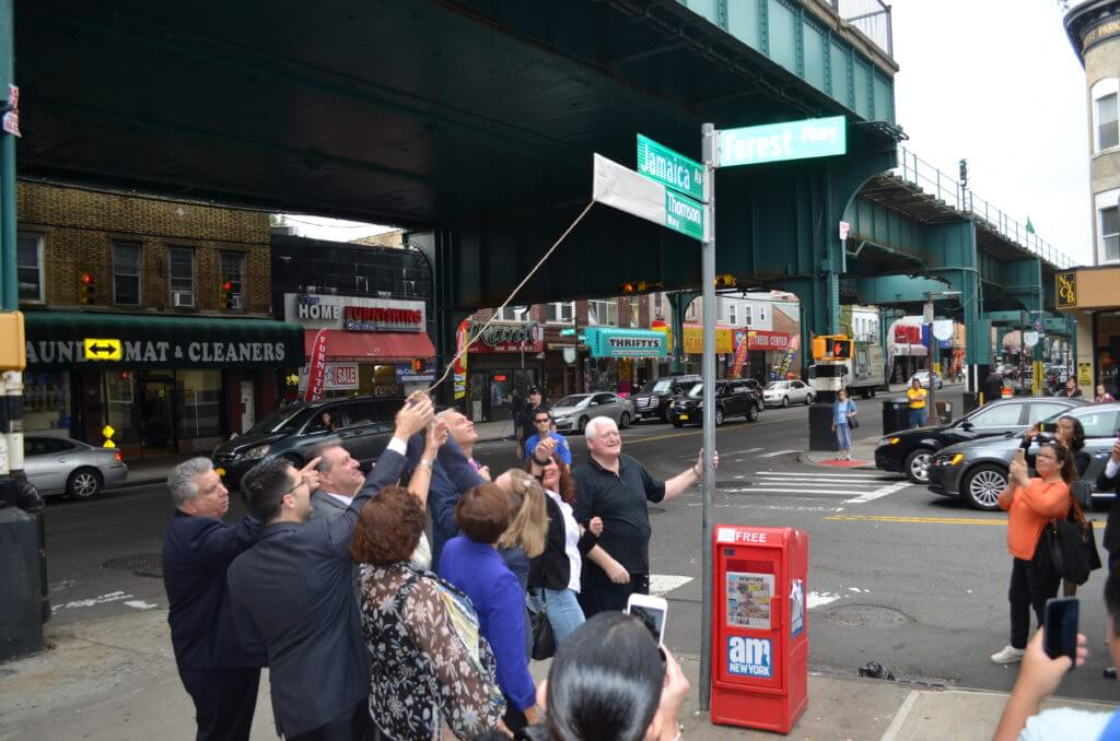 Twenty streets across Queens renamed for innovators, trailblazers and others who made a difference