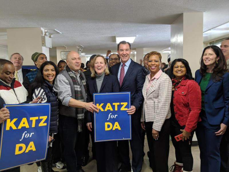 Queens DA race roundup: Katz opens campaign office, Lasak pushes for more diversity
