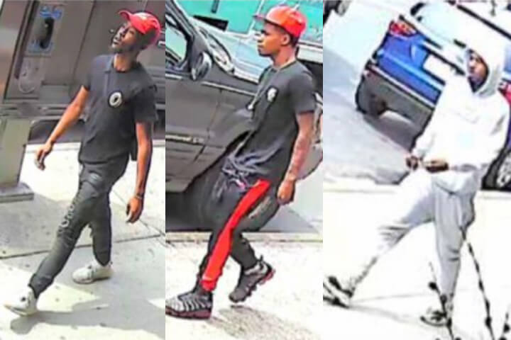 Three men sought for violently slashing two teenagers on the streets of Briarwood