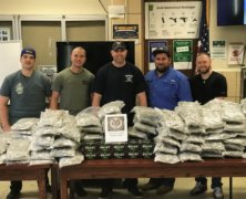 Sting operation helps cops intercept $650,000 marijuana shipment in Flushing, two California men cuffed
