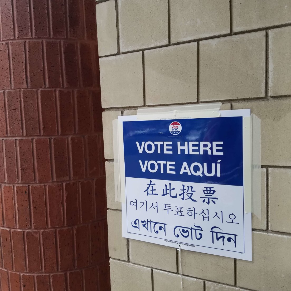 Queens Votes in DA Primary: At one Astoria polling place, progressives make their choices clear