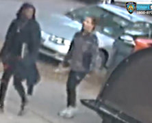 Pair wanted for robbing and slashing man sitting in car parked on Ozone Park street