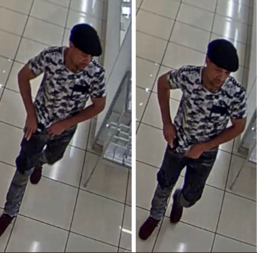 Watch this fast crook grab an estimated $42,000 in jewelry and run out of the Macy's store in Flushing