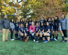 Maspeth High School girls soccer team clinches undefeated season
