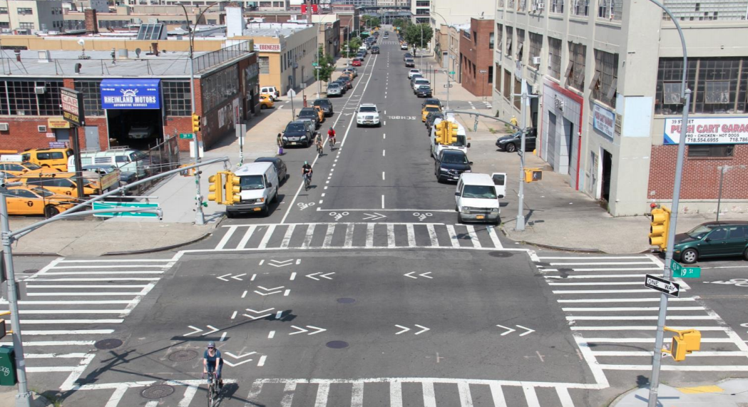 Data shows protected bike lanes in Sunnyside boosted female ridership