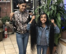 Richmond Hill sisters donate locks of hair to local nonprofit organization to assist children coping with hair loss