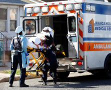 Coronavirus outbreak is stretching New York City's ambulance service to breaking point