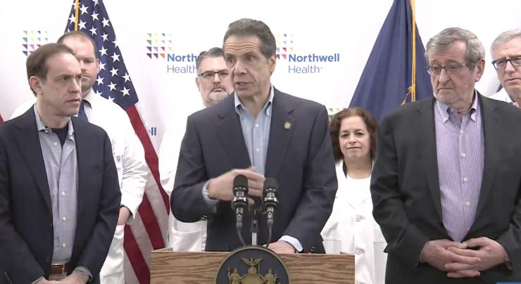 Cuomo tells CDC to 'wake up' and let New York hospitals run coronavirus tests