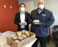 NYC real estate firms help LIC Relief feed western Queens NYCHA residents during COVID-19 pandemic