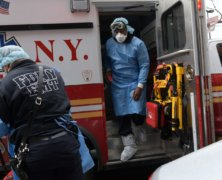 For city's EMS personnel, coronavirus outbreak is '10 times worse than 9/11'
