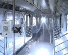 MTA expands ultraviolet disinfecting program to include full train sets