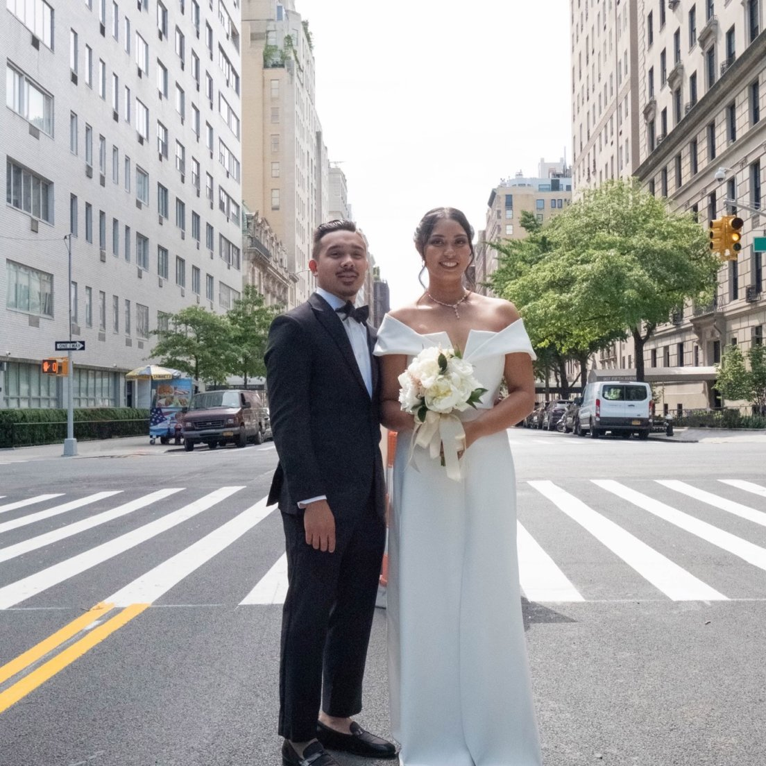 Two Astoria healthcare workers get married during special ceremony on NBC's TODAY show